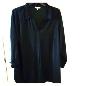 DR2 emerald green blouse